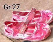 Sommerschuhe für Mädchen Gr 27