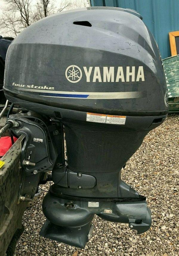 2017 Yamaha 30 PS 4 Takt Außenborder Jet Drive Boot Motor F40JEA