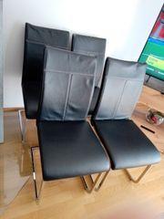 Verkaufe 4 Stühle gebraucht