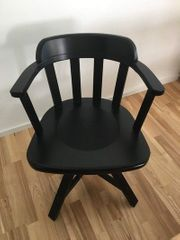 Stylish wooden arm chair