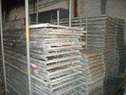118 m² gebrauchtes Alu Gerüst