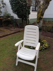 5 Gartenstühle zu verkaufen