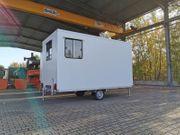 mobiles Büro Bauwagen Anhänger 750kg-2700kg