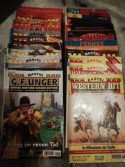 Konvolut 32 verschiedene Western Romane