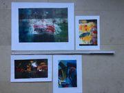 5 Original Lithographien von verschiedenen