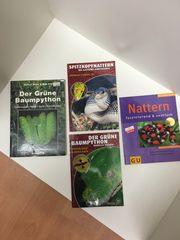 4 Bücher über Schlangen Haltung