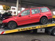 VW GOLF Unfallfahrzeug