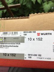 100er Paket Würth Fensterrahmenschrauben mit