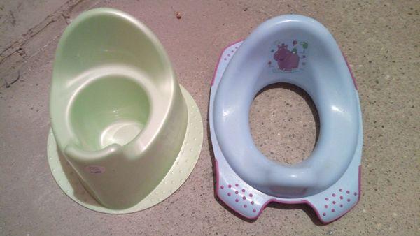 Kinder-Töpfchen und Kinder-Toilettensitz