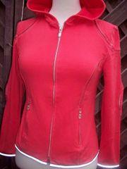 Belstaff Cardigan Hoodie Damen Rot