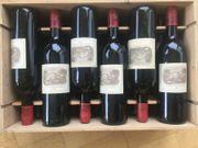 Kellerfund 12 Dekoflaschen Lafite Rothschild
