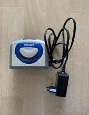 Walkman Philips wie neu Kasettenrecorder