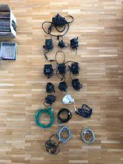 Diverse Adapter und Kabel für