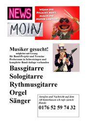 Raum Schwetzingen Musiker-Gitarristen Sänger Orgel