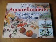 verschiedene Bücher Aquarellmalerei Aquarellieren je