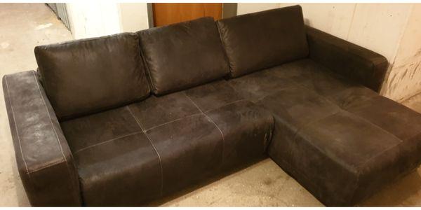 Velurleder CouchVelurleder Couch