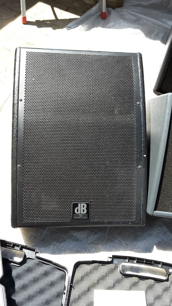 Monitor Aktiv Lautsprecher Boxen DB