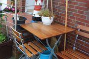 Klappbarer Balkon- Gartentisch