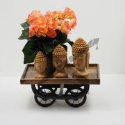 Holzdekoration Buddha Esoterik Kunst Holz