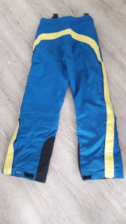 VAUDE Skianzug gelb-blau Skilehreranzug