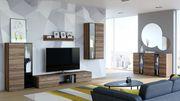 Wohnzimmer Set - Wohnwand und Kommode