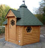 Sauna Blockhaus Gartensauna Aussensauna 7qm