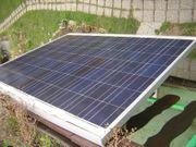 Solaranlage für Laube oder Garage