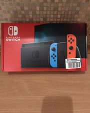 Nintendo switch NAGELNEU