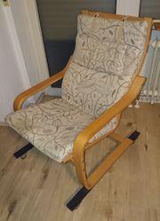 IKEA Stuhl Sessel LED Stehlampe
