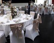 Stuhlhussen für Hochzeit Taufe Kommunion