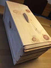 Zirbenholz Brotdose Groß