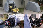 neue Motorrad - Faltgarage Tourer zum