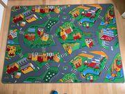 Kinderteppich Spielteppich Stadt Land Fluss