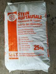 SWS Stein Auftausalz Streusalz Kornklasse