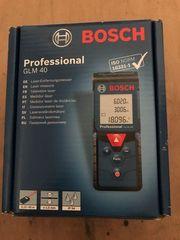 Bosch Glm 40 Laser Entfernugsmesser