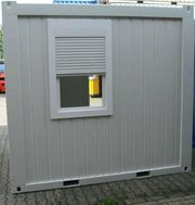 Bürocontainer Wohncontainer Security Container 10