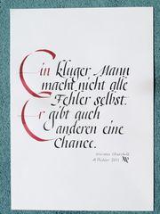 Kalligraphie Kurs für Einsteiger