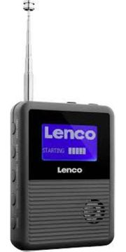 DAB UKW Digitales Taschenradio Lenco
