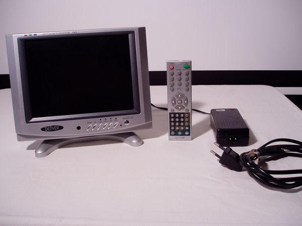 Kleiner Fernseher Monitor 16cm Bildbreite