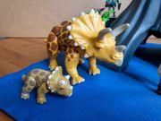Playmobil Triceratops mit Vulkan