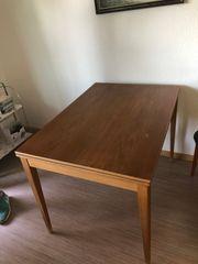 Esszimmertisch Tisch Holz ausklappbar 75
