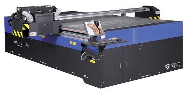 Plattendigitaldirektdruck mit UV-härtenden Tinten UV