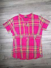 Kurzarm Hemd Pink Gr 34