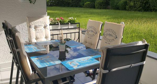 Gartenmöbel Tisch 6 Stühle Mit Auflagen In Frankfurt