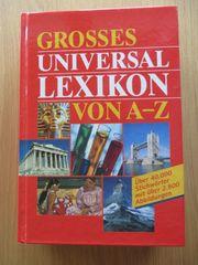 Grosses Universal Lexikon von A-Z