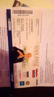 HEUTE abend Joan Baez Konzert
