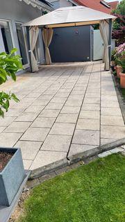 Terrassenplatten Beton Naturstein 40x40x4 35m²