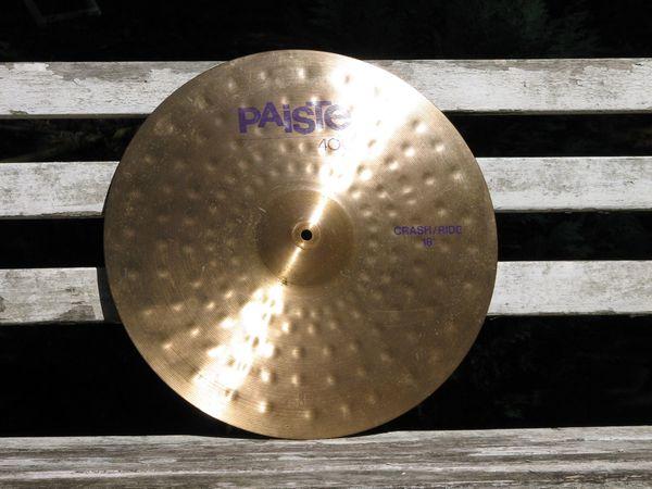 Schlagzeug 18er PAISTE 400 Crash