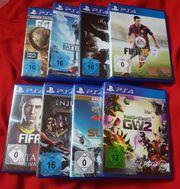 PS4 Spiele 8 Stk ab