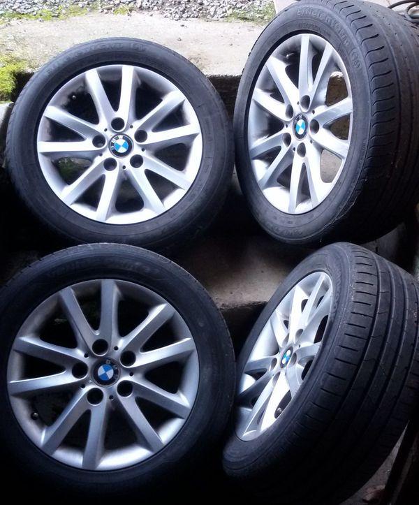 4x Kompletträder BMW Alufelgen Felgen Styling 136 für E36 46 SommerReifen 225/50R16 - Leimen - 4x 225/50 R16 Goodyear, Profil 6 mm, Alufelgen. Verkaufe 4x Kompletträder mit BMW Alu-Felgen 7x16 Zoll Styling 136 passend für BMW E36 /46. Auf den Felgen sind Sommerreifen montiert. 2x GoodYear mit 4mm Profil und 2 neuwertige Hankook mit 6,5mm - Leimen